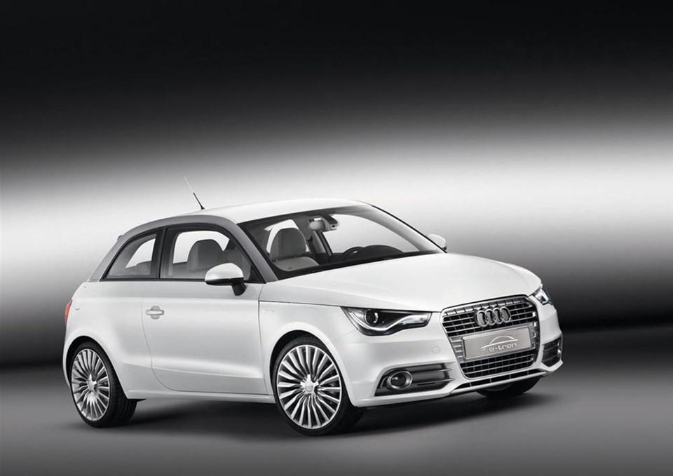 2011 Audi A1 e-tron concept