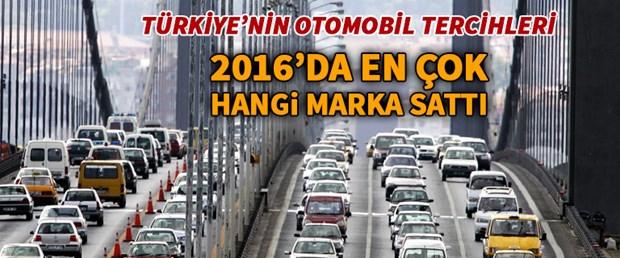 2016'nın en çok satanları Hangi otomobil markası kaç adet sattı