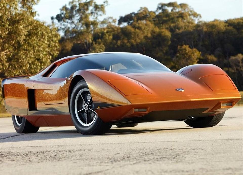 42 yıllık konsept otomobil restore edildi