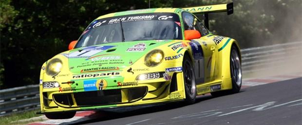 "911 GT3 RSR'ler ""Ring""de esti"