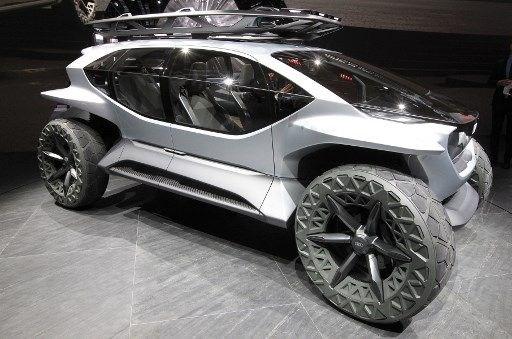Audi'den elektrikli ve otonom arazi aracı