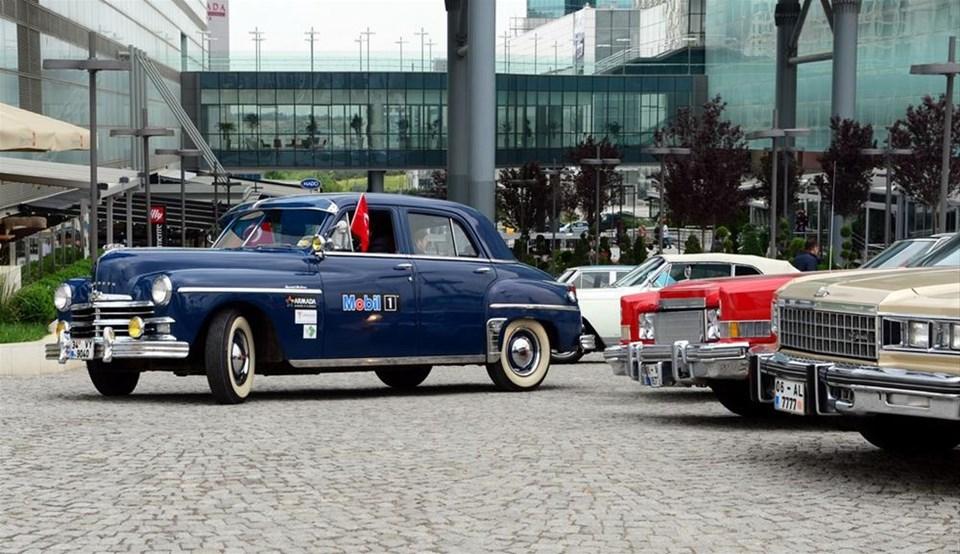 Başkentliler klasik otomobillerle buluştu