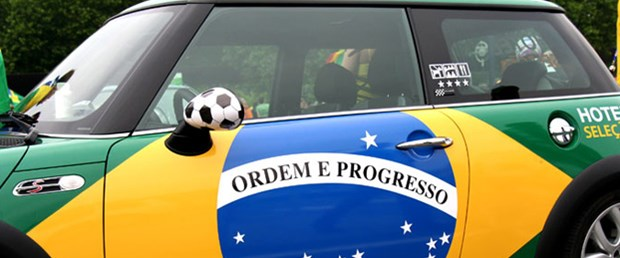Brezilya Almanya'yı geride bırakarak dünyanın en büyük dördüncü otomobil pazarı olma yolunda
