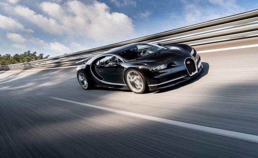Bugatti Chiron'dan hız rekoru: 490 km/s