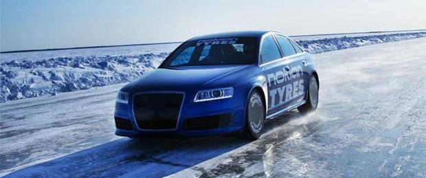 Buz üstünde yeni rekor: 331 km/s