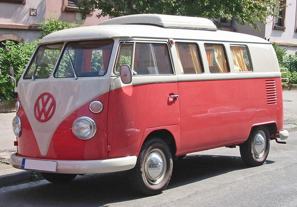 Konseptin ilham aldığı 1950'lerin mikro otobüsü