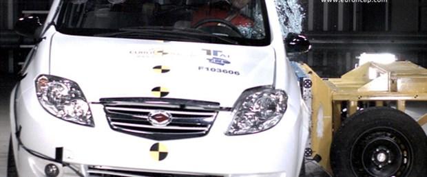 Euro NCAP'de ilk kez bir Çin otomobili