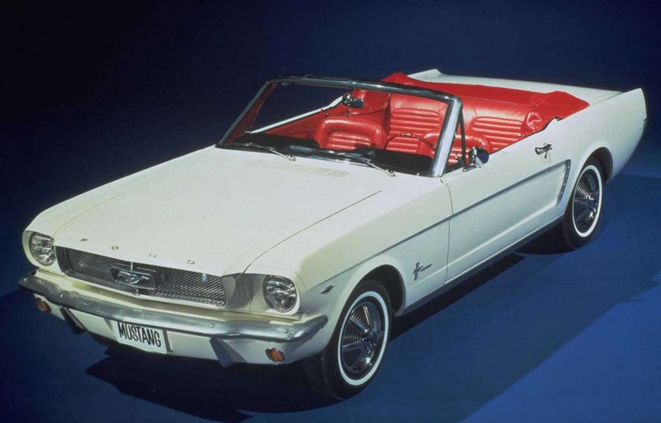 1964 Ford Mustang katalog fotoğrafı