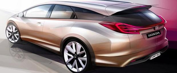 Honda'nın Cenevre konsepti: Civic Wagon