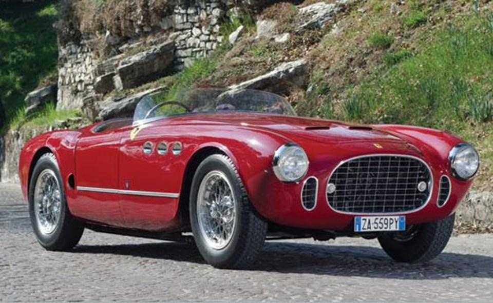 1952 Ferrari 225 Sport Spyder Tuboscocca