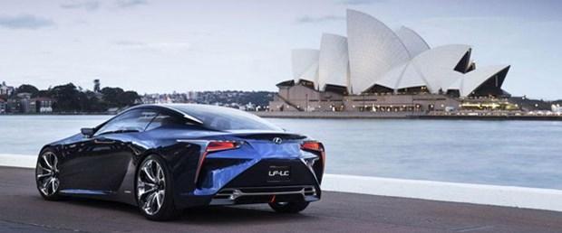 Lexus LF-LC Blue konsepti