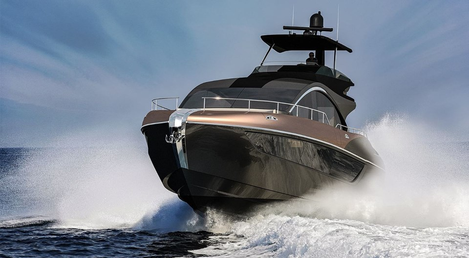 Lexus'un lüks teknesi LY 650 yıl sonunda denize iniyor