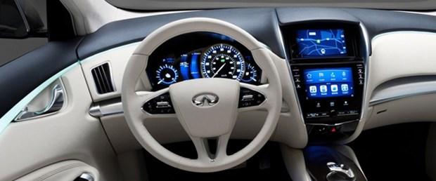 Lüks Nissan'lar elektronik direksiyonlu olacak