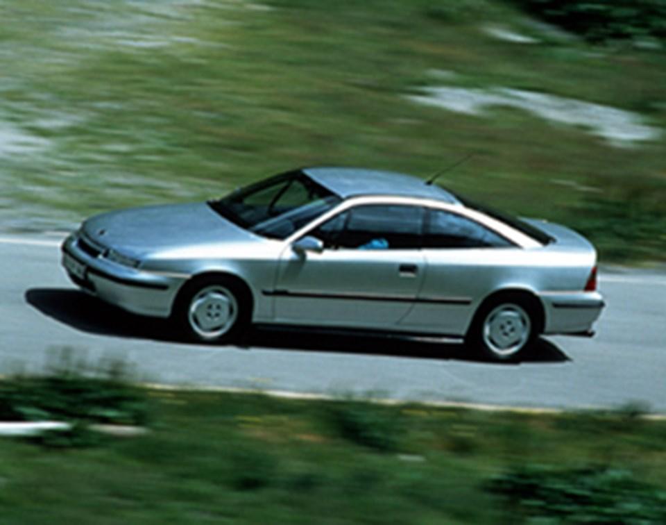 1989-1997 yılları arasında üretilen Opel Calibra