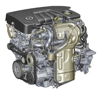 Opel'in yeni 1,6 litrelik alüminyum bloklu dizelmotoru.