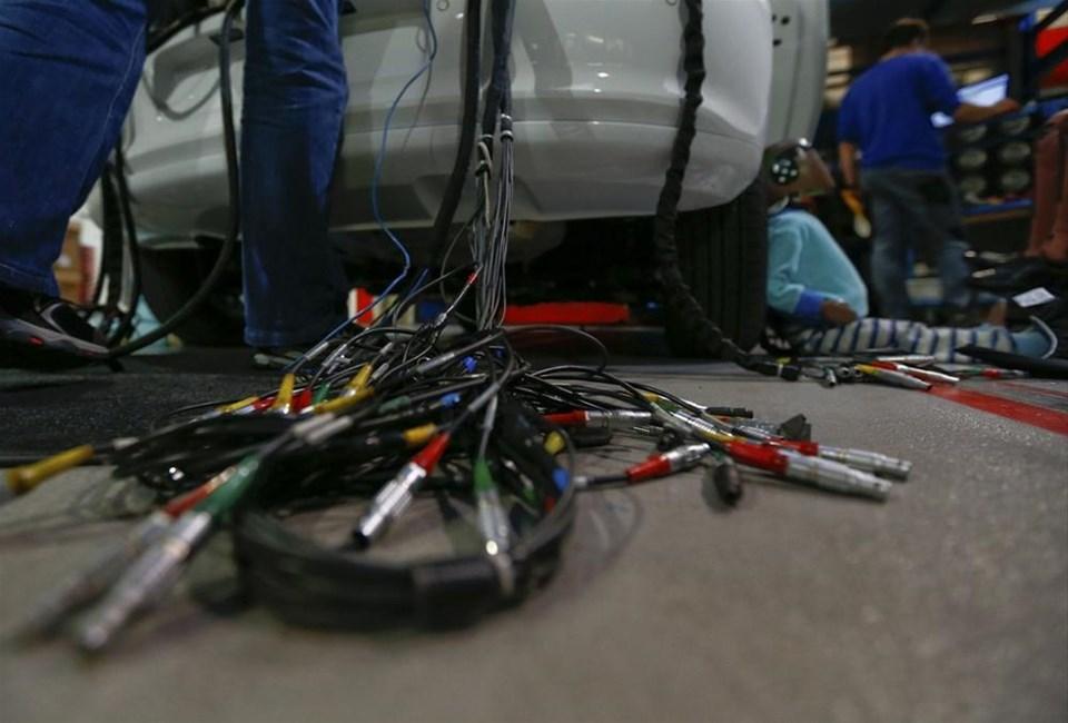 Otomobillerin zorlu sınavı