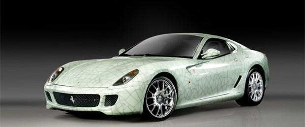 Özel versiyon Ferrari 599 GTB Fiorano, 1.2 milyon Euro'ya alıcı buldu