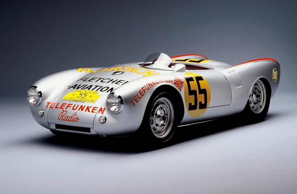 Porsche 550 Spyder yarış otomobili (1953)