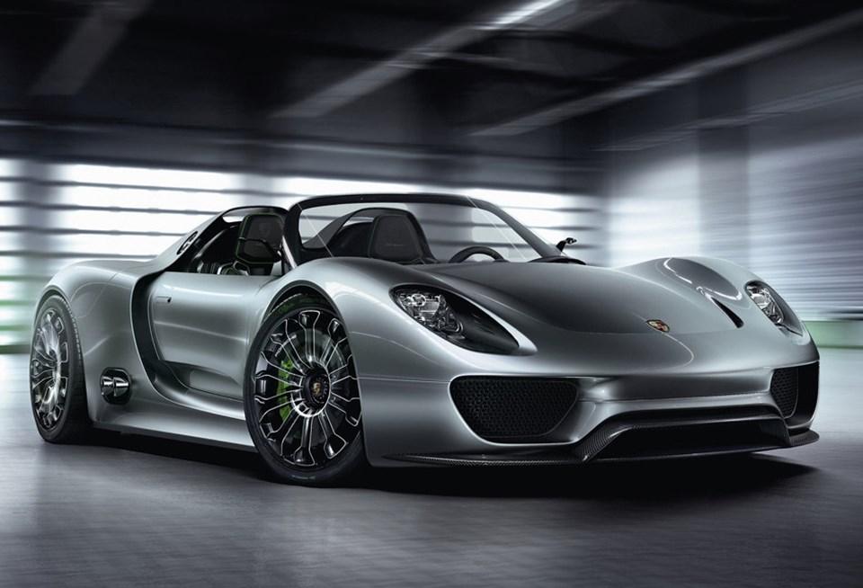 Porsche 918 Spyder konsepti