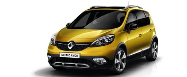 Renault Scenic XMOD'u tanıttı