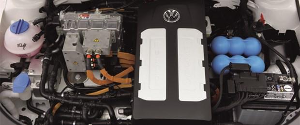 Sıfır emisyonlu elektrikli Volkswagen Golf konsepti 2013'te çıkıyor