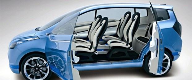 Suzuki Yeni Delhi Otomobil Fuarı 2010'da R3 Konsept MPV'yi tanıttı