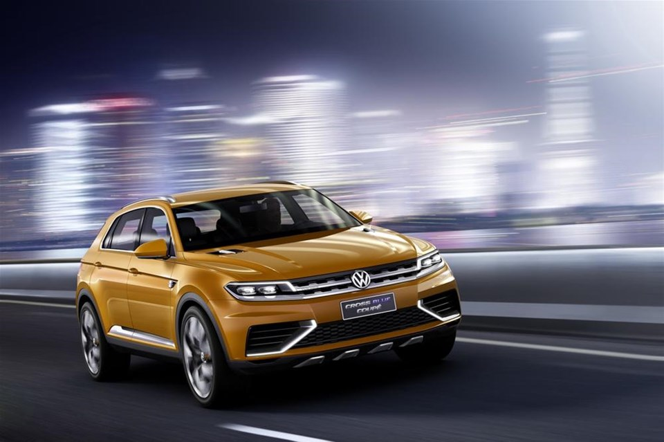 Volkswagen'den yeni Crossover