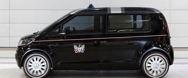 Volkswagen'in taksi konsepti