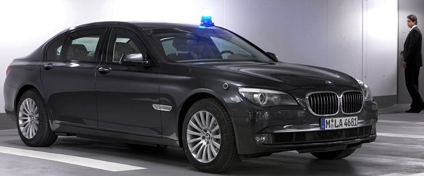 Yeni zırhlı BMW 750 Li ve 760 Li