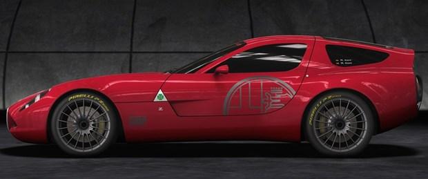 Zagato Alfa Romeo TZ3 Corsa'yı tanıttı