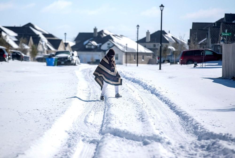 Teksas'ta kar fırtınası: En az 21 kişi hayatını kaybetti - 17