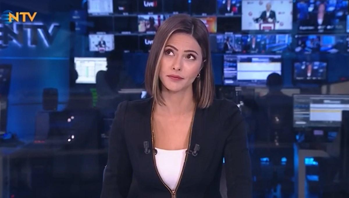 NTV yayınında deprem anı
