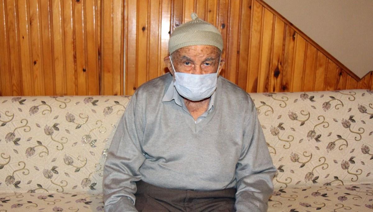 93 yaşında corona virüsü yendi