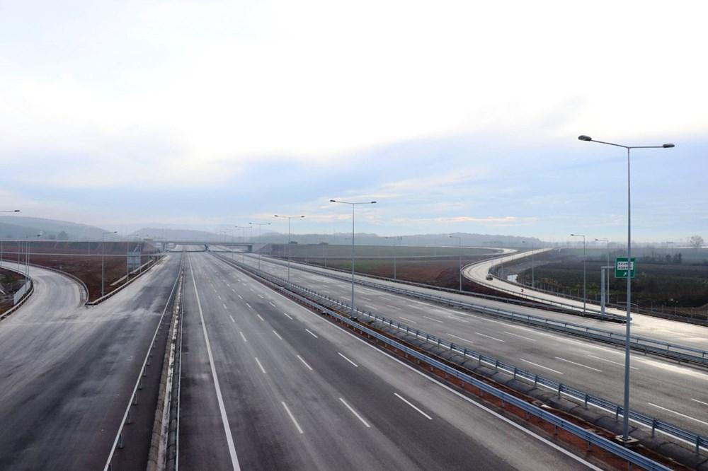 Kuzey Marmara Otoyolu'nun İzmit-Akyazı kesimi açılıyor - 3