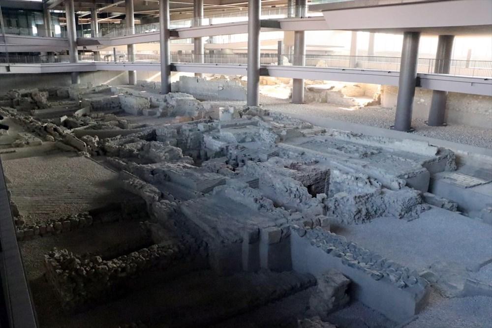 Hatay'da beş dönemin izlerini taşıyan Necmi Asfuroğlu Arkeoloji Müzesi ziyaretçilerini zaman yolculuğuna çıkarıyor - 16