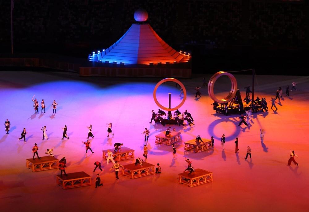 2020 Tokyo Olimpiyatları görkemli açılış töreniyle başladı - 21