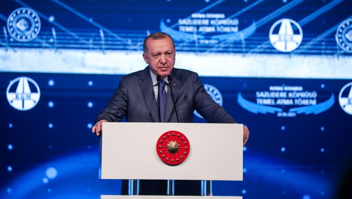 Cumhurbaşkanı Erdoğan: Kanal İstanbul, İstanbul'un geleceğini kurtarma projesi