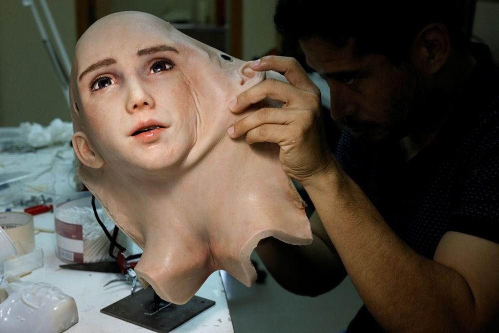 Robot Sophia'ya kardeş geldi: Robot hemşire Grace - 4