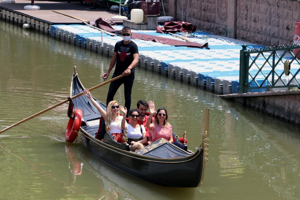 'Türkiye'nin Venedik'inde gondol ve bot seferleri yeniden başladı - 3