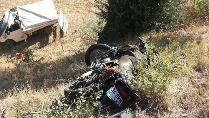 Tire İlçe Emniyet Müdürü trafik kazası geçirdi