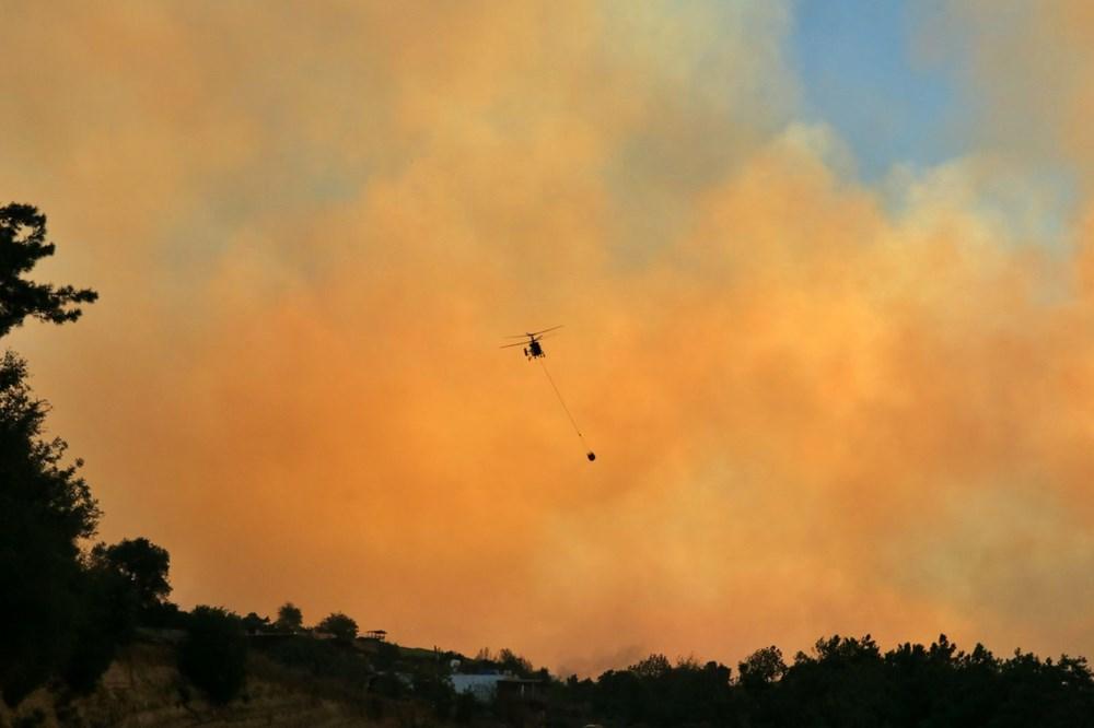 Adana'da orman yangını: 8 köy boşaltıldı - 4
