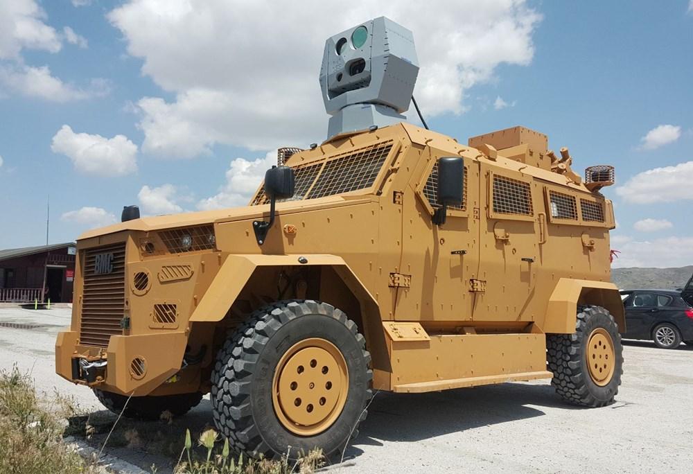 Dijital birliğin robot askeri Barkan göreve hazırlanıyor (Türkiye'nin yeni nesil yerli silahları) - 239