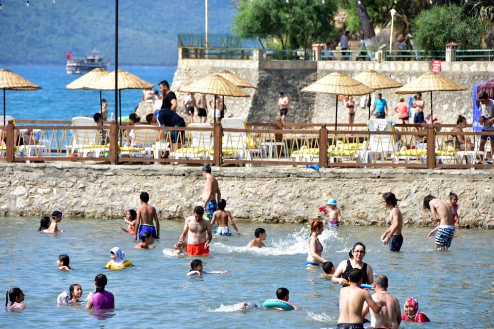 Sadece unvanı sakin şehir: Bayramda nüfusu 20 kat arttı - 4
