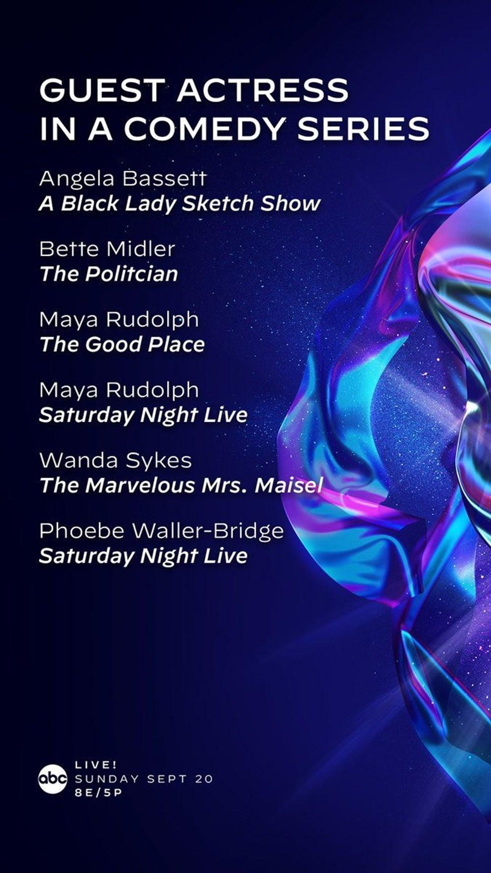 72. Emmy Ödülleri 2020 adayları belli oldu - 18