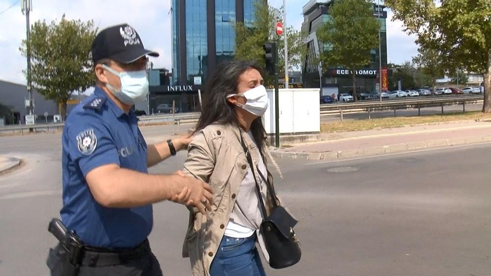 Selama pengintaian, mereka menyerang pengemudi wanita, polisi turun tangan dengan gas air mata - 6