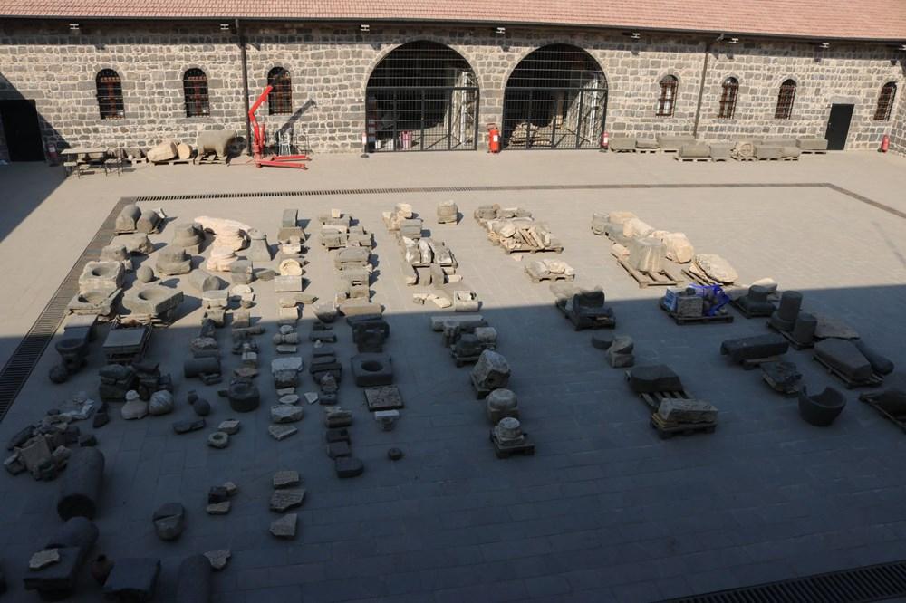 Türkiye'nin tarihi eserleri Diyarbakır'da restore ediliyor - 1