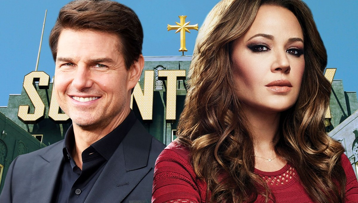 Eski Scientology tarikatı üyesi oyuncu Leah Remini:Tom Cruise kendi ses kaydını sızdırarak reklam yaptı