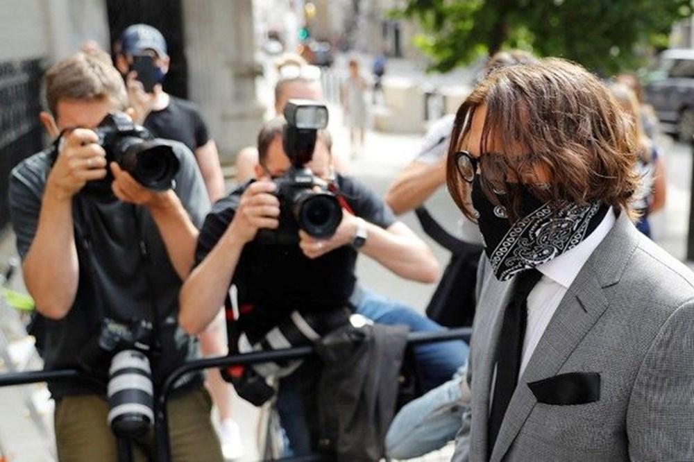Amber Heard'e şiddet uyguladığı iddia edilen Johnny Depp iftira davasını kaybetti - 3