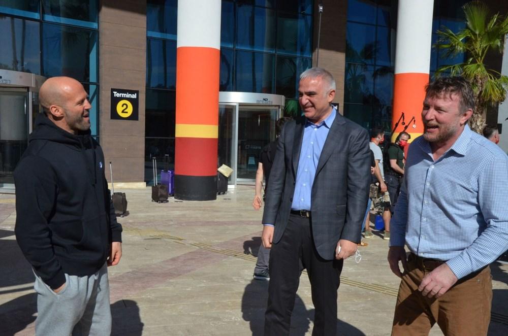 Bakan Mehmet Nuri Ersoy'dan Five Eyes film setine sürpriz ziyaret - 5
