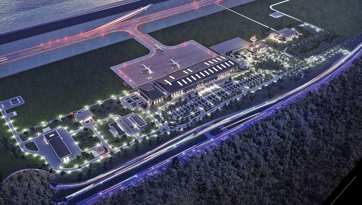 Rize-Artvin Havalimanı yıl sonu hizmete açılıyor